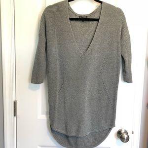 Express Long Tunic Sweater S